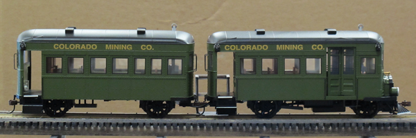 Rail Bus and Trailer
